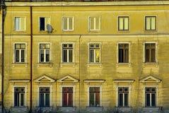 Budynek mieszkalny fasada Fotografia Stock
