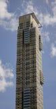 Budynek mieszkalny przy dzielnicą biznesu w Manila, Filipiny zdjęcie royalty free