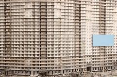 budynek mieszkaniowy budowa Obrazy Stock