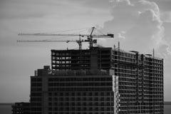 Budynek Mieszkaniowy budowy proces Obraz Stock