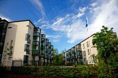 budynek mieszkaniowy Finland Zdjęcia Stock