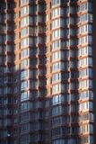 budynek mieszkaniowy Manhattan zdjęcia royalty free