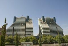 budynek mieszkaniowy nowożytni Zdjęcia Royalty Free