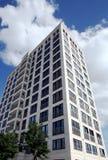 budynek mieszkaniowy nowożytny Zdjęcie Stock