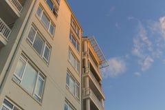 Budynek mieszkaniowy Pyrmont w Sydney, Australia Blok mieszkaniowy Obrazy Stock