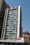 Budynek mieszkaniowy w Środkowej dzielnicie biznesu, Johannesburg, Południowa Afryka obraz royalty free