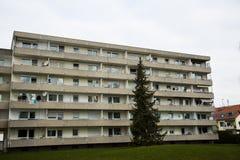 Budynek mieszkaniowy w Monachium, budynek mieszkalny, mieszkaniowy Fotografia Royalty Free