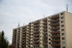 Budynek mieszkaniowy w Monachium, budynek mieszkalny, mieszkaniowy Zdjęcie Royalty Free