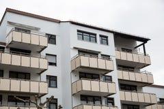 Budynek mieszkaniowy w Monachium, budynek mieszkalny, mieszkaniowy Obraz Stock