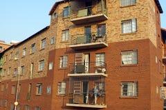 Budynek mieszkaniowy w Newtown obraz royalty free
