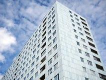 Budynek mieszkaniowy z balkonami Obraz Royalty Free