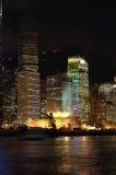 budynek nocy scena Zdjęcie Royalty Free