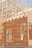 Budynek nowa Budowa zdjęcie stock
