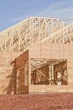 Budynek nowa Budowa zdjęcia stock