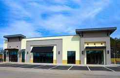 budynek nowej reklamy Zdjęcia Stock