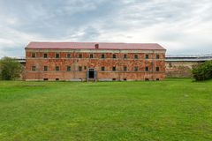 Budynek Nowy więzienie Fotografia Stock