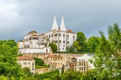 Budynek pałac obywatel w Sintra, Portugalia zdjęcie royalty free