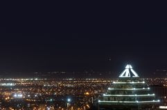 budynek piękna noc Zdjęcia Stock