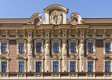 Budynek pierzeja Zdjęcia Royalty Free