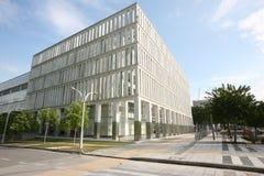 budynek plener nowoczesnej Obrazy Stock