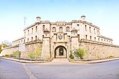 Budynek policja narodowa w Havana obrazy royalty free