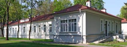 Budynek pomyślny Litewski uruchomienie firmy Telia H Fotografia Stock