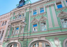 Budynek poprzedni volga Commercial Bank Obraz Stock