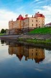 Budynek poprzednia Zbożowa wymiana na nabrzeżu, Rybinsk, Rosja Zdjęcie Royalty Free