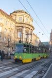 Budynek Poznański uniwersytet nauki medyczne poznan Polska obrazy royalty free