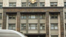 Budynek Rosyjski parlament stan duma zbiory wideo