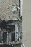 Budynek rozbiórka Zdjęcia Stock