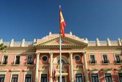 budynek rządu Murcia fotografia royalty free