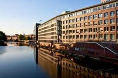budynek rzeka Obrazy Stock