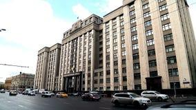 Budynek stan duma federacja rosyjska zdjęcie wideo