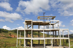 Budynek struktury obrazy stock