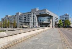 Budynek SZEŚĆ Swiss Exchange w Zurich, Szwajcaria Obraz Stock