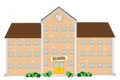 Budynek szkoły ilustracji