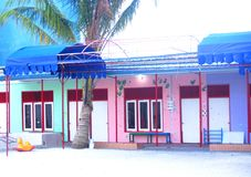 Budynek Szkoły samiec, Maldives Fotografia Stock