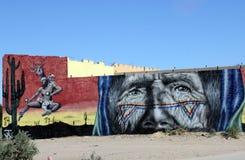 Budynek sztuka na rodeo przejażdżce w Puerto Penasco, Meksyk Fotografia Stock