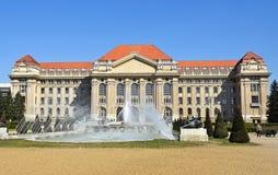 Budynek uniwersytet Zdjęcia Royalty Free