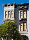 budynek uszkadzający Zdjęcie Royalty Free