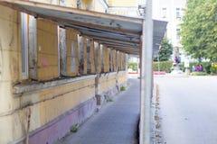 Budynek, utrzymanie, budowy potwarz na drogim domu repairs2 fotografia royalty free