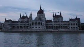 Budynek Węgierski parlament zbiory wideo