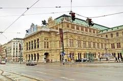 Budynek Wiedeń stanu opera, Austria Obraz Royalty Free