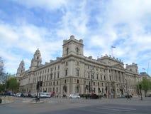 budynek wojna biurowa stara Zdjęcia Stock