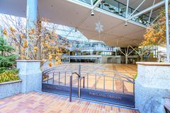 Budynek world trade center Portland Zdjęcie Stock