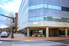 Budynek world trade center Portland Obraz Royalty Free