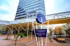Budynek world trade center Portland Obrazy Stock
