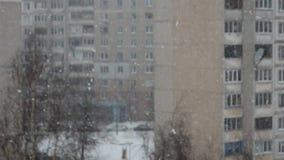 Budynek wysokości spadki śnieżni wielka płatek śniegu miecielica zbiory