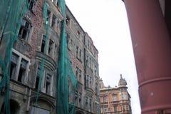 budynek zrujnowany Fotografia Royalty Free